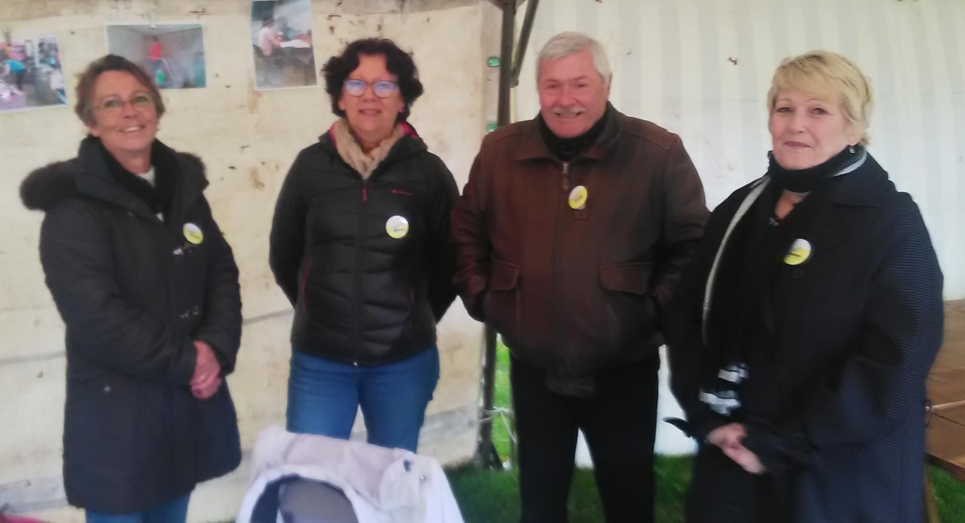 Mai 2019, participation à la fête de la grenouille à Mesves / Loire