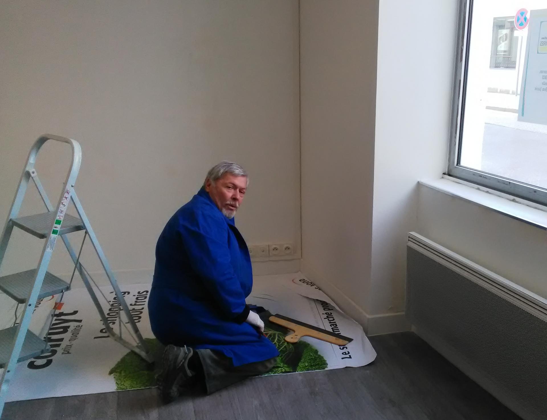 Mars 2018, rénovation des nouveaux locaux