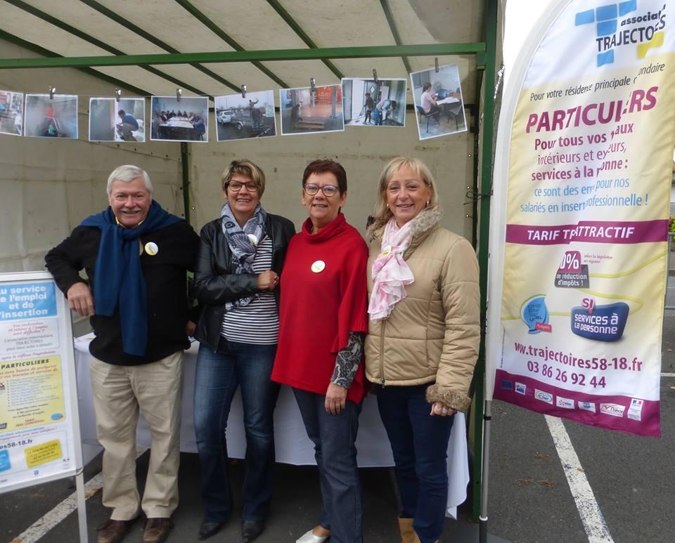 Septembre 2017, fête des associations Cosne Cours sur loire