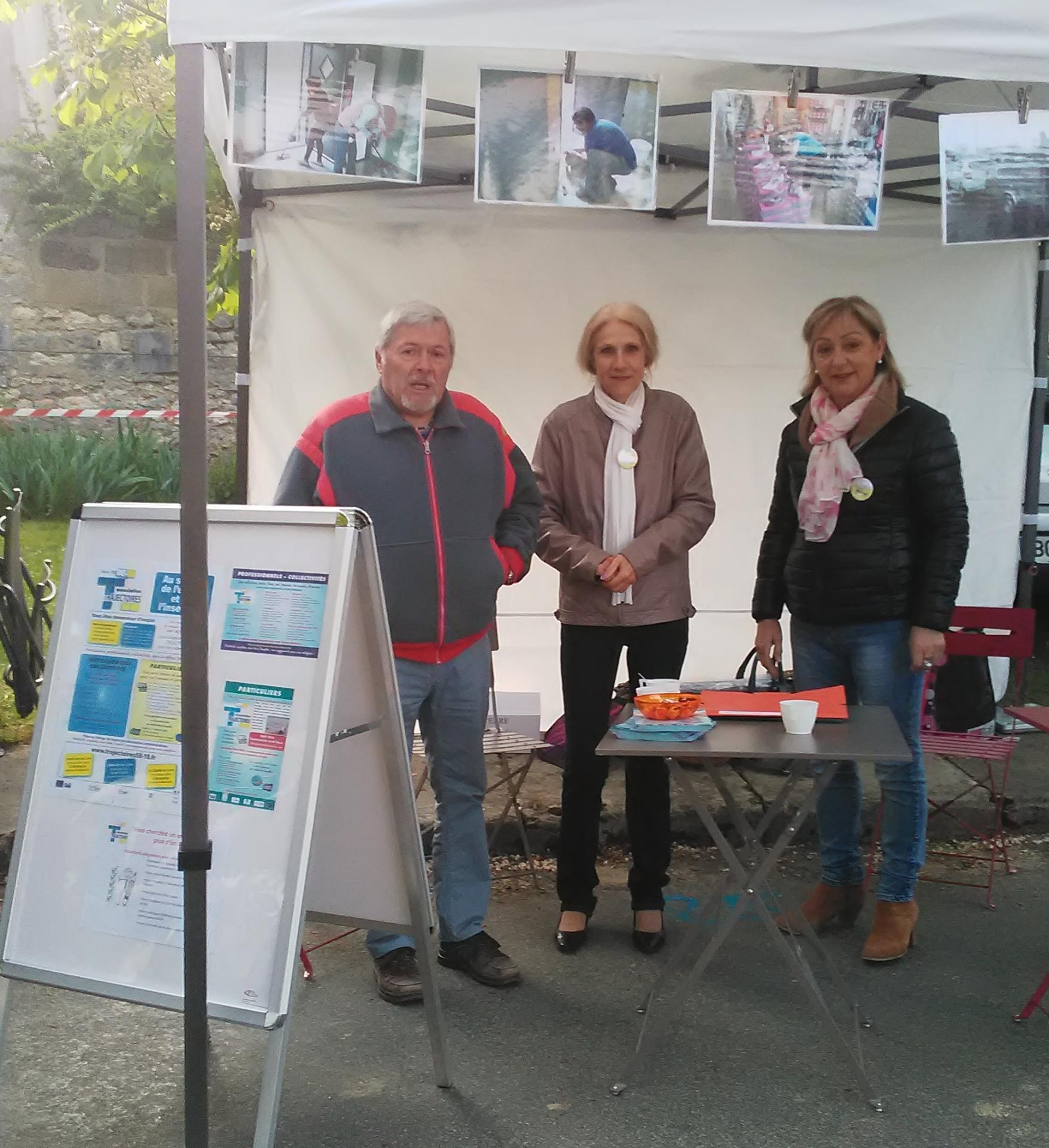 Avril 2018, participation à la foire de Boulleret