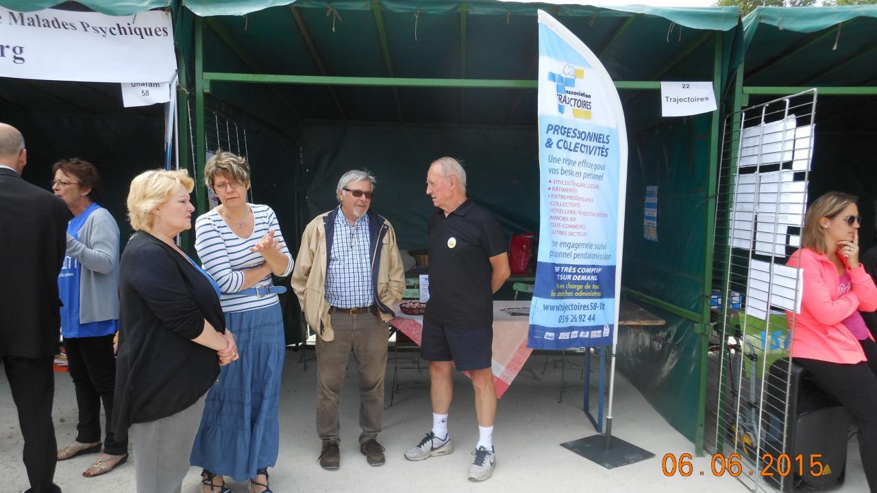 Fête des associations juin 2015 à Cosne Cours sur Loire