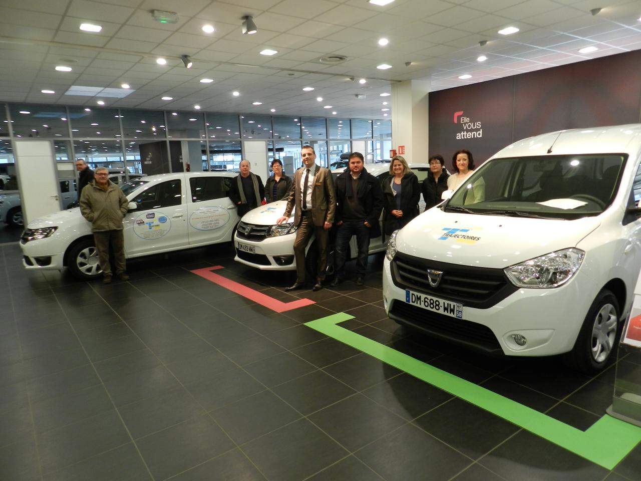 Réception des nouvelles voitures février 2015