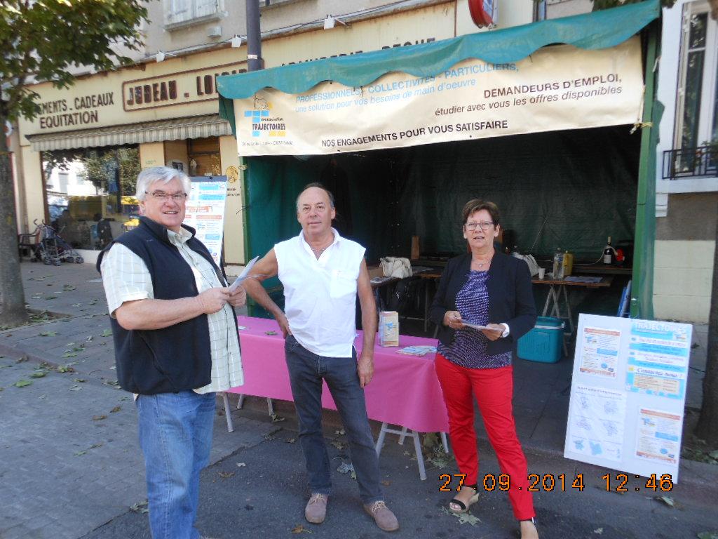 Foire St Michel à Cosne Cours sur Loire, septembre 2014