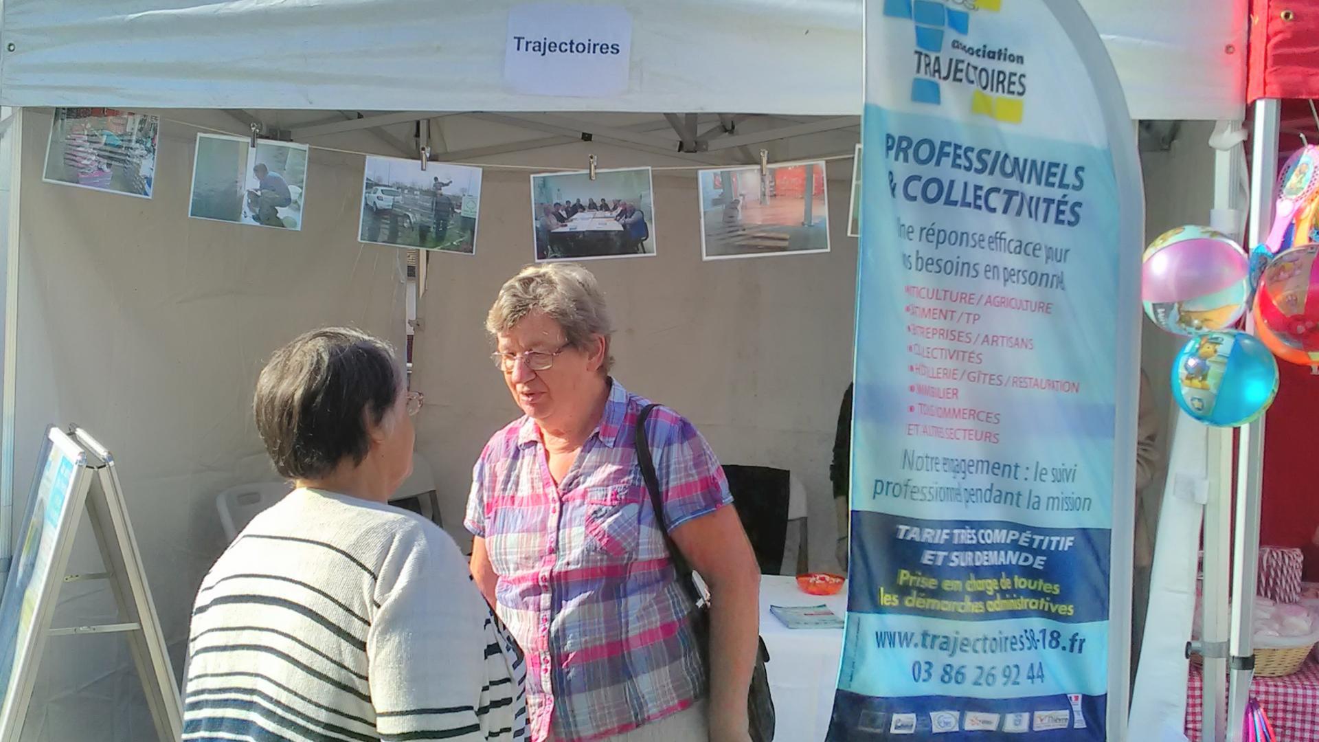 Septembre 2018, fête des associations Cosne Cours sur Loire